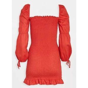 Reformation • Hilary Smocked Dress